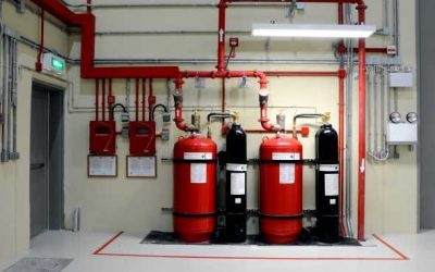 Clean agent (FM-200) fire suppression systems