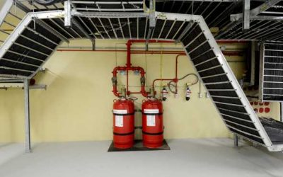 Clean agent (Novec 1230) fire suppression systems