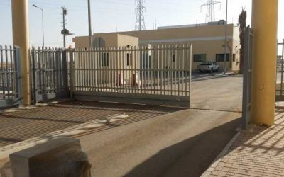Road barriers, blockers, tire killers and sliding gates